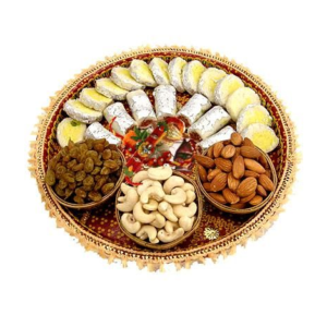 assorted sweets dry fruits