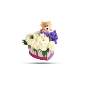 teddy flower box