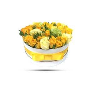 yellow flower box